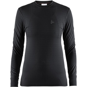 Craft Warm Comfort LS Shirt Damen black